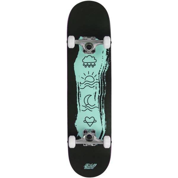 Enuff Icon Mini Complete Skateboard - Green 7.25''