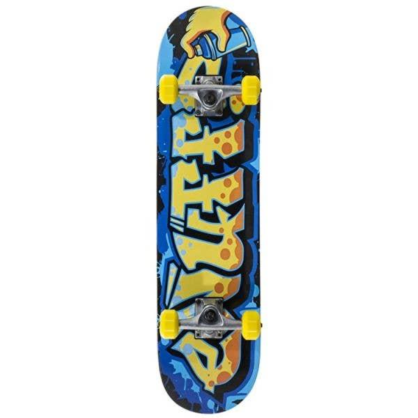 Enuff Graffiti II Mini Complete Skateboard - Yellow