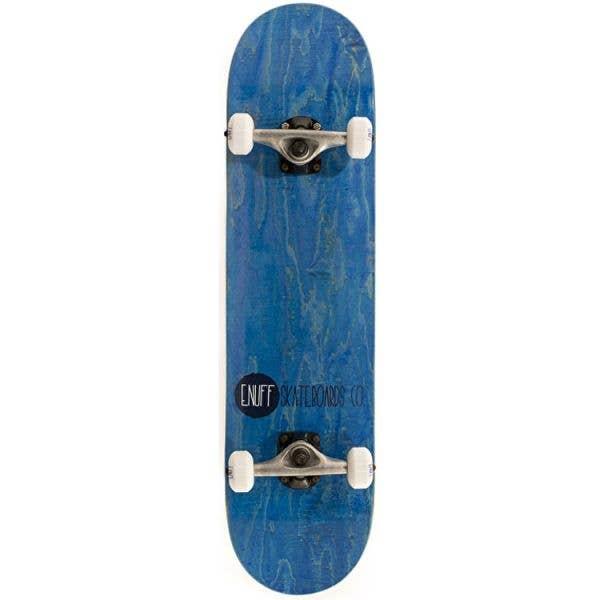 Enuff Logo Stain Complete Skateboard - Blue