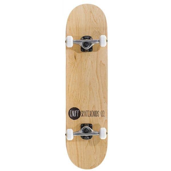 Enuff Logo Stain Complete Skateboard - Natural