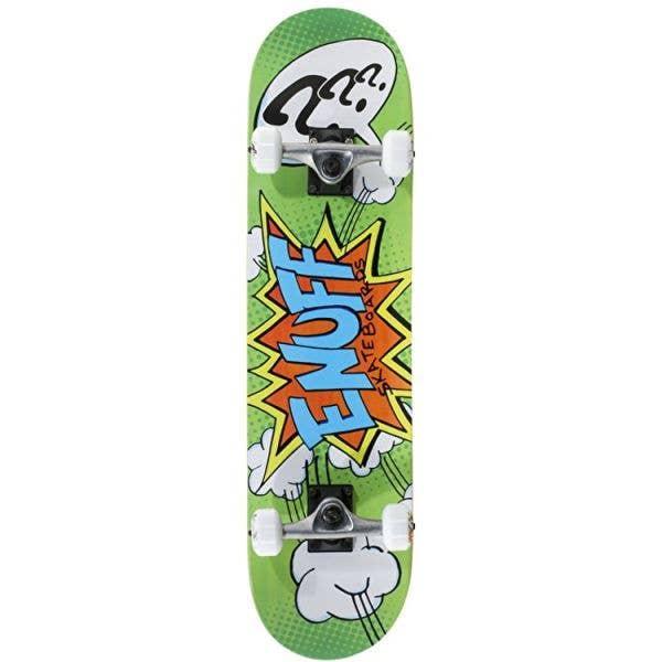 Enuff Pow II Mini Complete Skateboard - Green