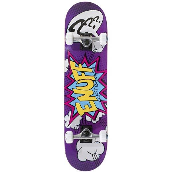 Enuff Pow II Mini Complete Skateboard - Purple