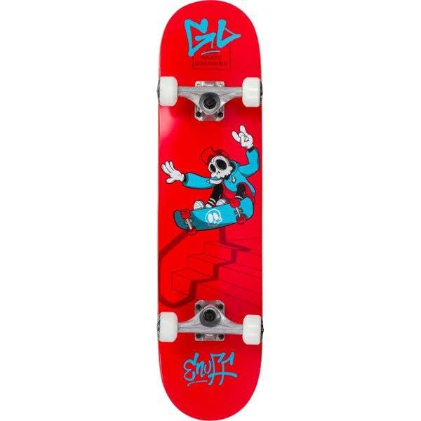 Enuff Skully Mini Complete Skateboard - Red 7.25''