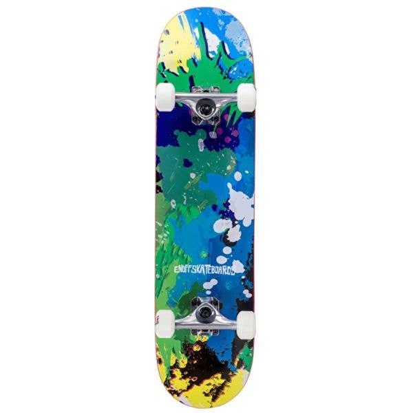 Enuff Splat Complete Skateboard - Green/Blue