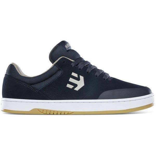 Etnies Marana Skate Shoes - Navy/Tan