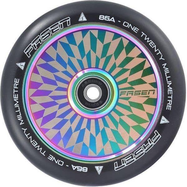 Fasen 120mm Hypno Scooter Wheel - Offset Oil Slick