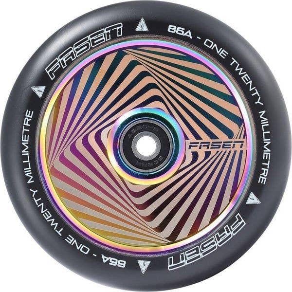 Fasen 120mm Hypno Scooter Wheel - Square Oil Slick