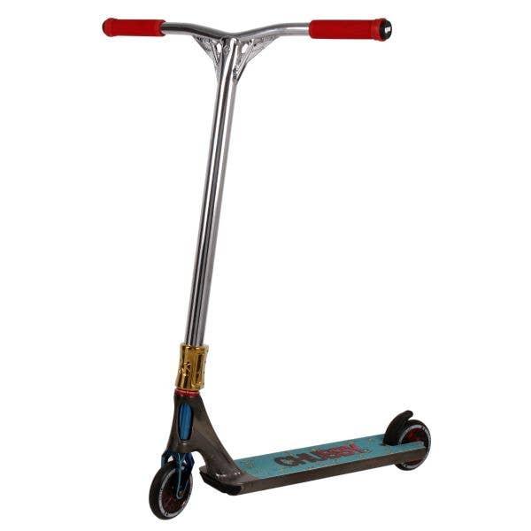 Fasen x Striker Custom Stunt Scooter - Multi/Silver