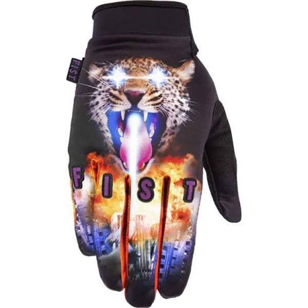 Fist Gloves Lazer Leopard Protective Gloves