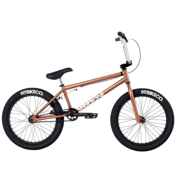 Fit 2021 Series One 20.5'' Complete BMX - Gloss Black
