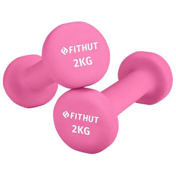 FitHut Twin Pack 2kg Dumbell