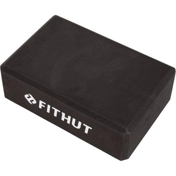 FitHut Yoga Block - Black