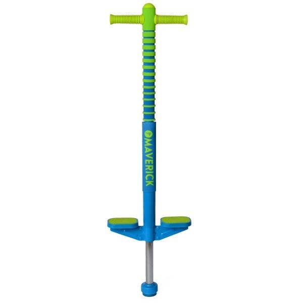 Flybar Maverick Pogo Stick - Blue/Green