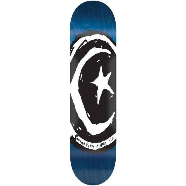 Foundation Star & Moon V1.0 Skateboard Deck - 8.38''