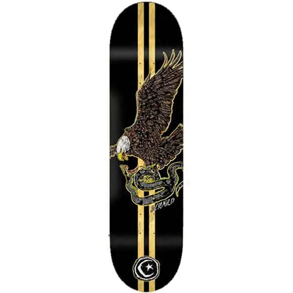 Foundation French Eagle Skateboard Deck - Servold 8.25''