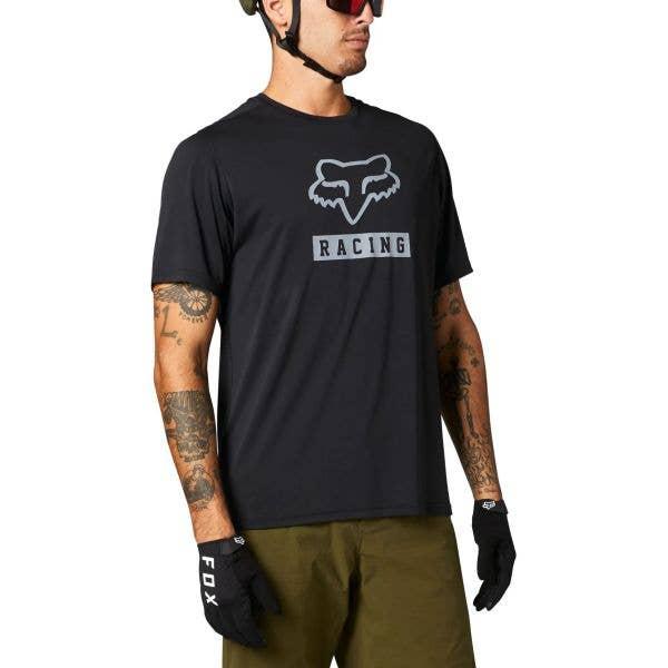 Fox Ranger Block Short Sleeve Jersey - Black