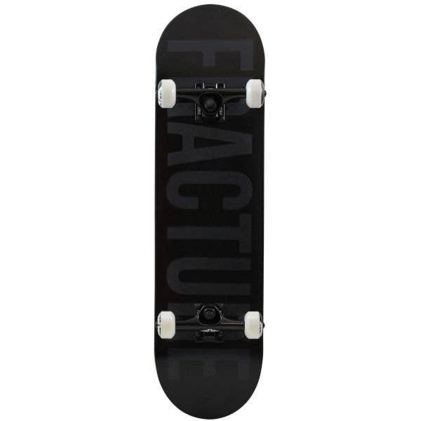 Fracture Fade Mini Complete Skateboard - Black 7.25''