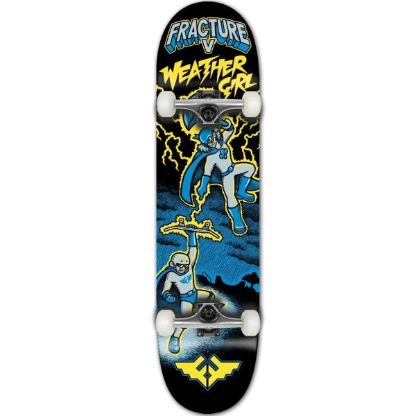 Fracture x John Horner Complete Skateboard - Weather Girl 7.25''