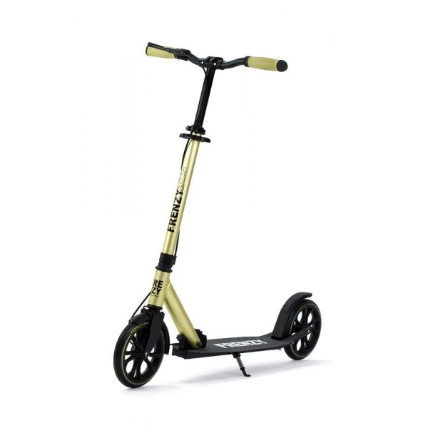 Frenzy 205mm Dual Brake Plus Recreational Complete Scooter - Champagne