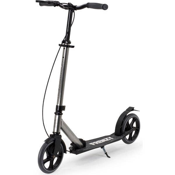 Frenzy 205mm Dual Brake Plus Recreational Complete Scooter - Titanium