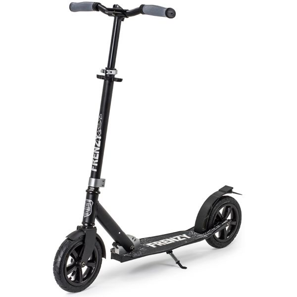 Frenzy 205mm Pneumatic Plus Complete Scooter - Black