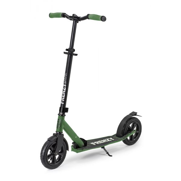 Frenzy 205mm Pneumatic Plus Complete Scooter - Military