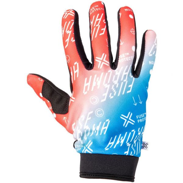 Fuse Protection Chroma Alias Protective Gloves - Red/Blue Fade