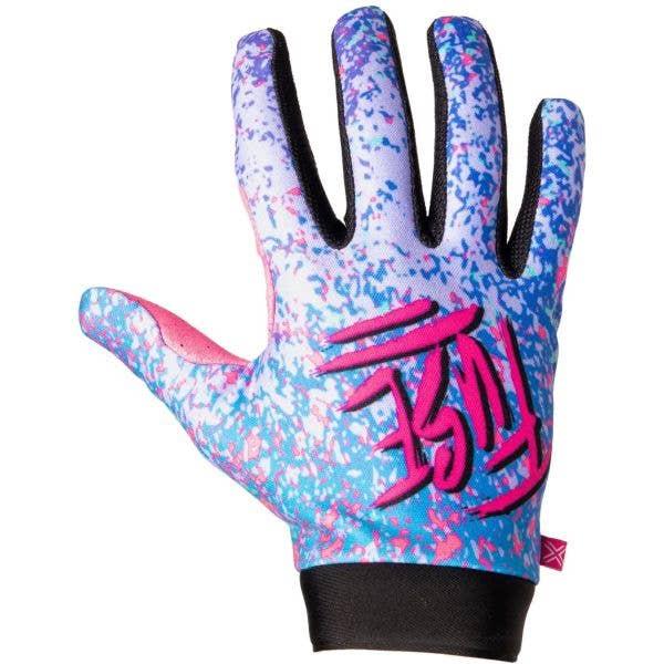 Fuse Protection Omega Turbo Protective Gloves - Blue Splash