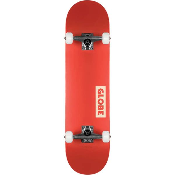 Globe Goodstock Complete Skateboard - Red - 7.75''