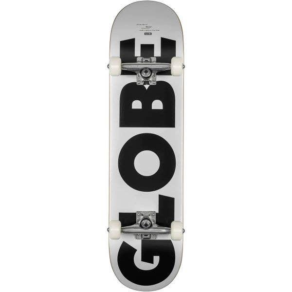 Globe G0 Fubar Complete Skateboard - White/Black 8''