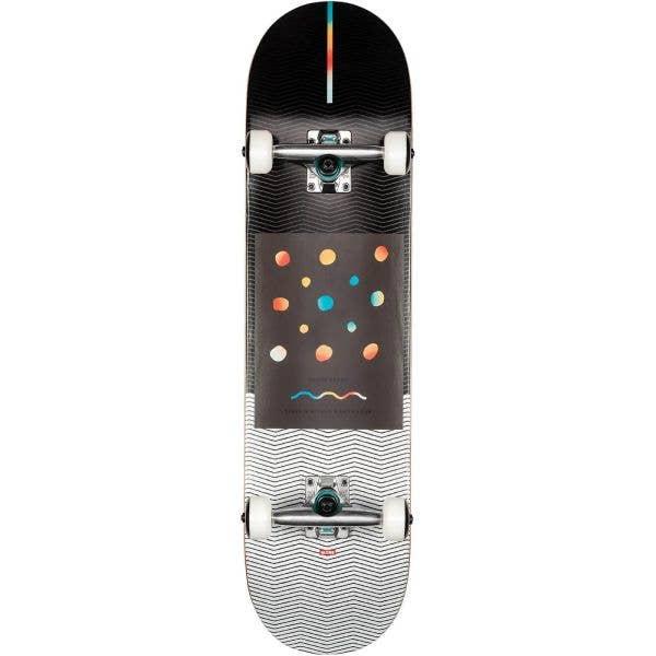 Globe G1 Nine Dot Four Complete Skateboard - Black/White 8''