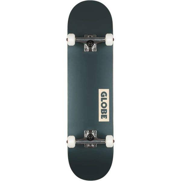 Globe Goodstock Complete Skateboard - Navy 7.875''