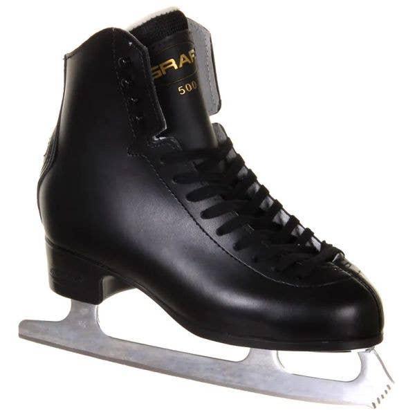 Graf 500 Ice Skates - Black