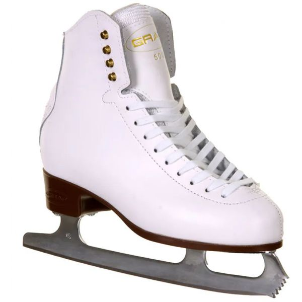 Graf 500 Ice Skates - White