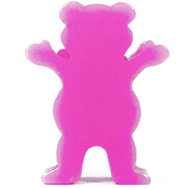 Grizzly Grease Skateboard Wax - Pink