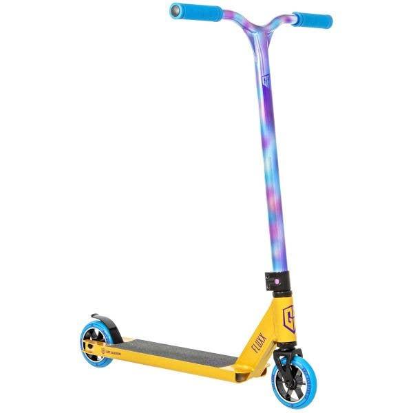 Grit 2021 Fluxx Stunt Scooter - Gold/Neo Paint