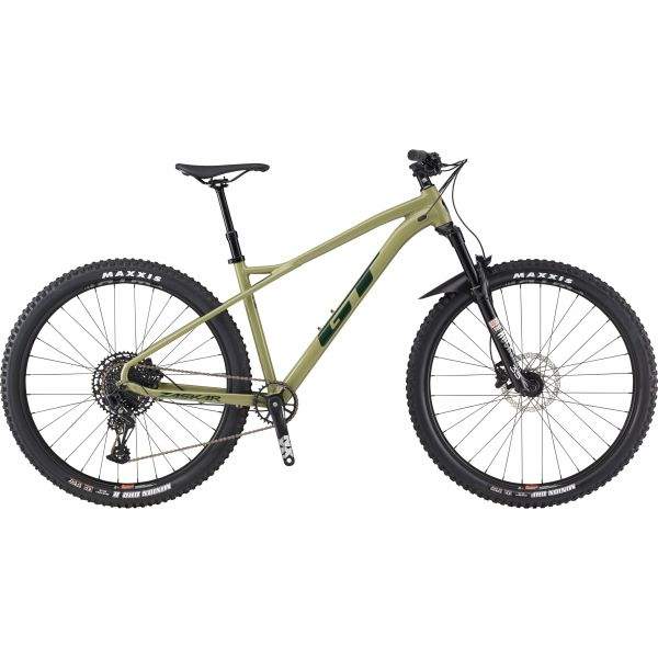 GT Zaskar LT AL Expert 29 M 2021 Mountain Bike - Dark Olive MED