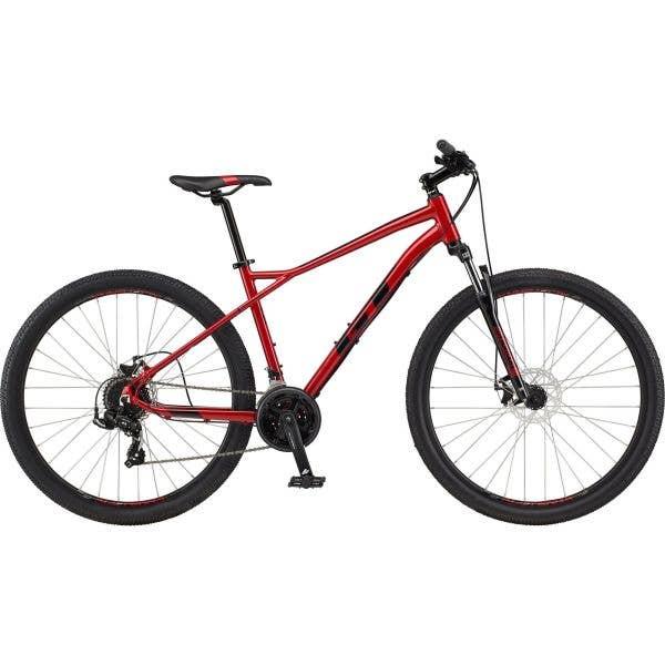 GT Aggressor Sport 2021 Mountain Bike - Red, Medium