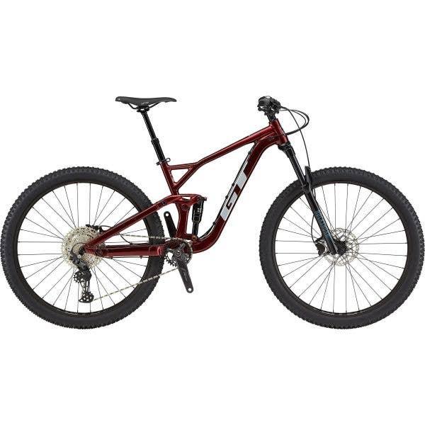 GT Sensor Sport 2021 Mountain Bike - Red, XL