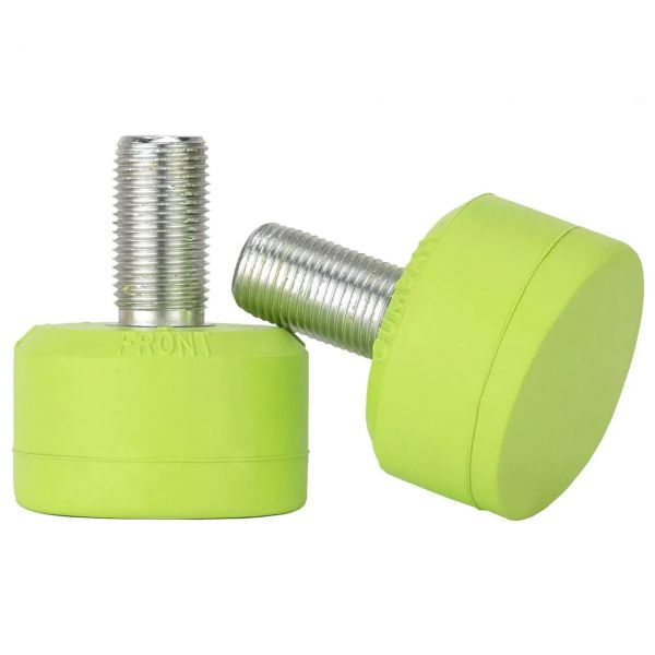 Gumball Long 30mm Toe Stops - Lime 75a