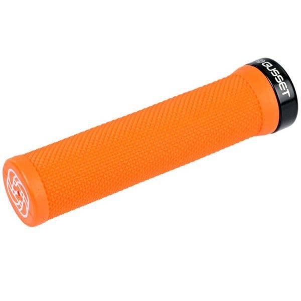 Gusset Single File Scooter Grips - Fluo Orange