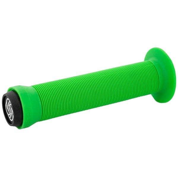 Gusset Sleeper Flanged Scooter Grips - Green
