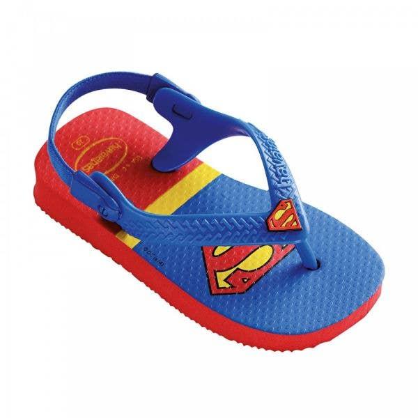 Havaianas Baby Heroes Toddlers' Flip Flops - Superman - Toddler UK 4