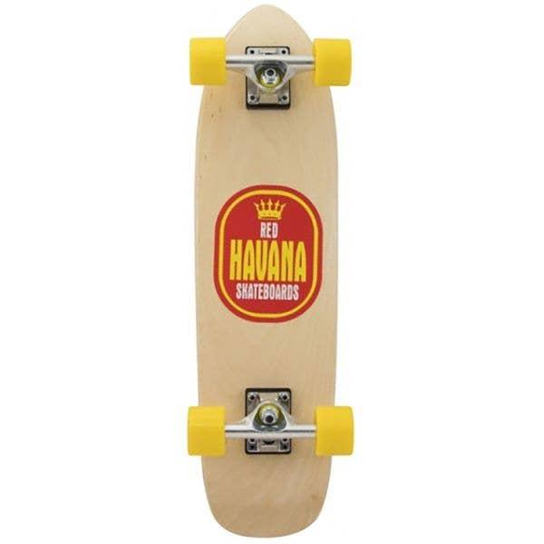 Havana Red Peso Banana Complete Cruiser - 27.5''
