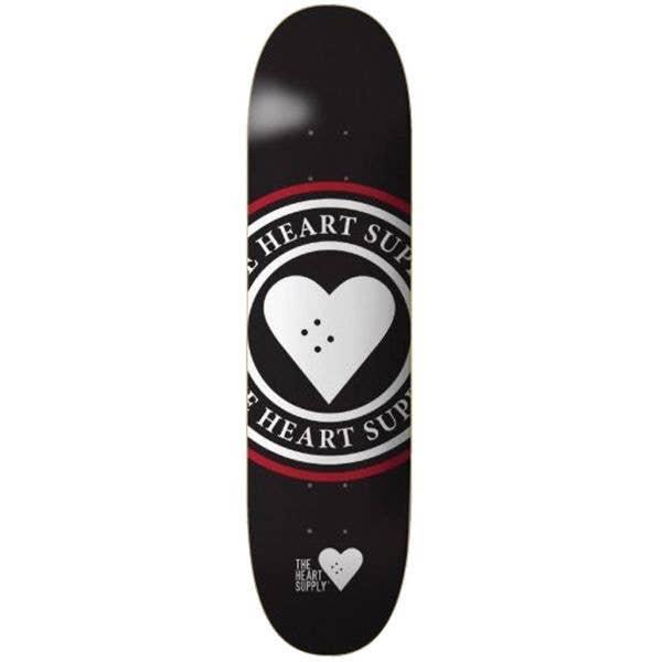 The Heart Supply Insignia Skateboard Deck - Black 8''