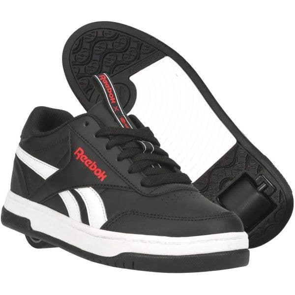 Heelys x Reebok Court Low - Core Black/White/Vector Red
