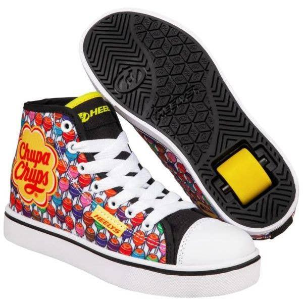 Heelys x Chupa Chups Veloz - Black/White/Yellow/Multi Nylon