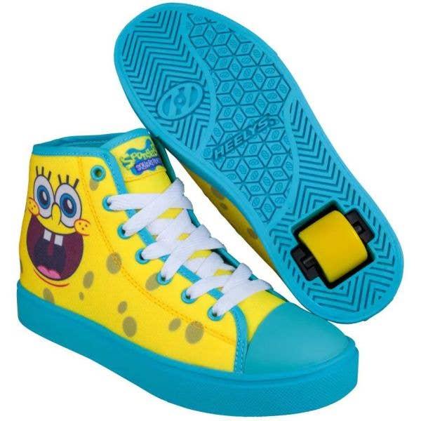 Heelys Hustle x SpongeBob - Yellow/Aqua