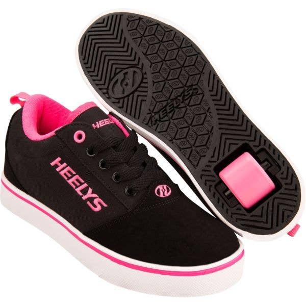 Heelys Pro 20 - Black/Pink/Nubuck