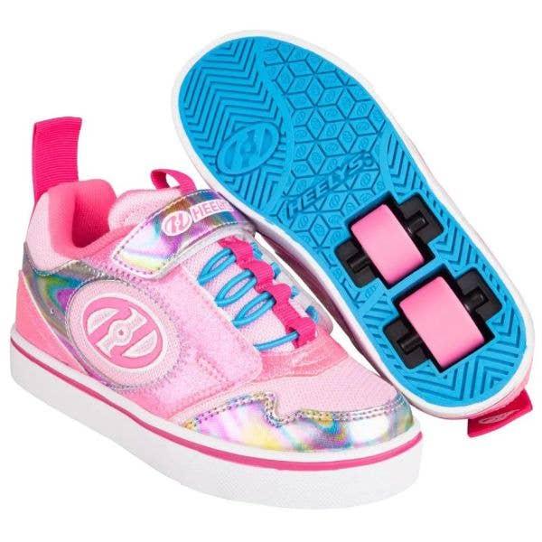 Heelys Rocket X2 - Neon Pink/Glitter/Multi
